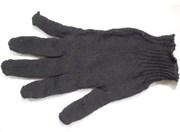 Перчатки трикотажные х/б чёрные