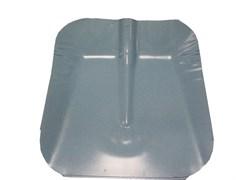 Лопата ЛС алюмин. 355*380 с накладкой