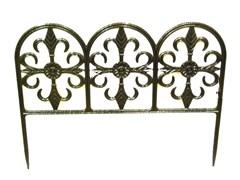 """Забор садовый литой """"Византия"""" тип 4"""