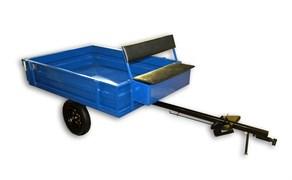 Телега Forza-3 МБ 2-местная, ножной тормоз, упакована в коробку.